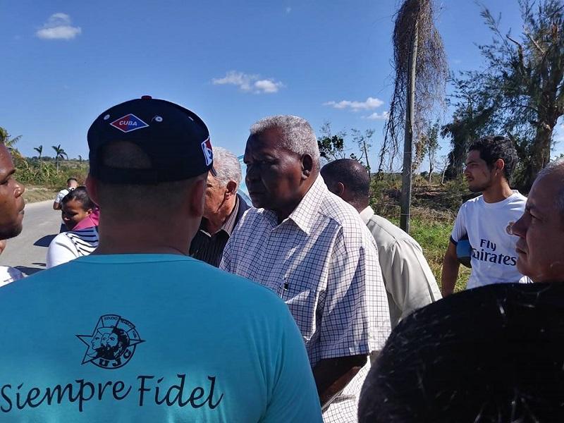 Recorre Esteban Lazo zonas afectadas por tornado en Habana del Este