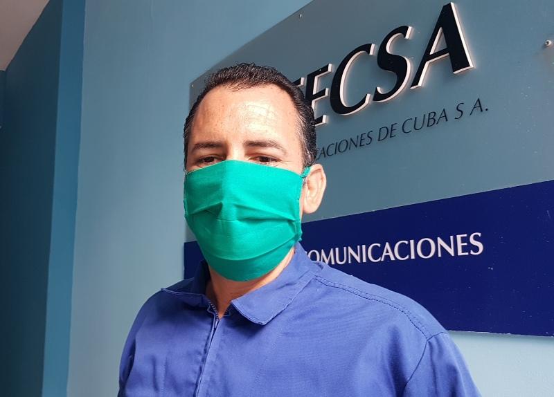 Jefe del Equipo Intervención Técnica, ingeniero Edel Mendoza.