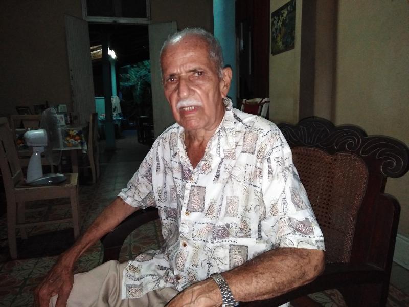 El combatiente Eusebio González Rodríguez fue el último cubano que conversó con el Señor de la Vanguardia, Camilo Cienfuegos.
