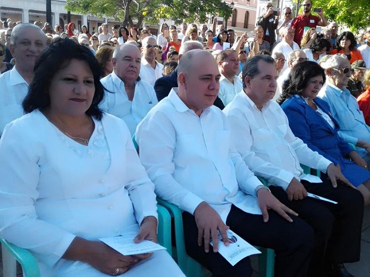 Felicita Esteban Lazo a cienfuegueros por bicentenario de la ciudad
