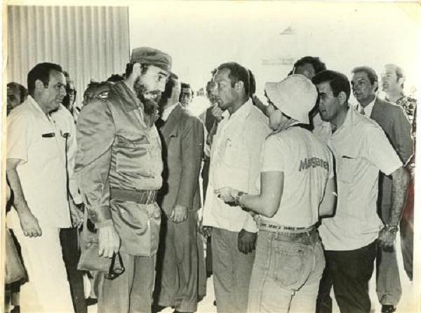 Surge Cienfuegos tras la huella de Fidel