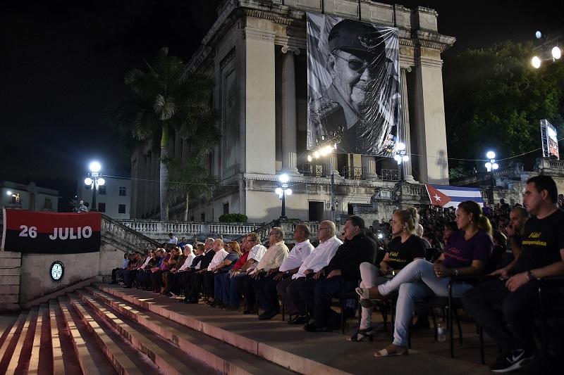 En Audio: En la Universidad de Fidel