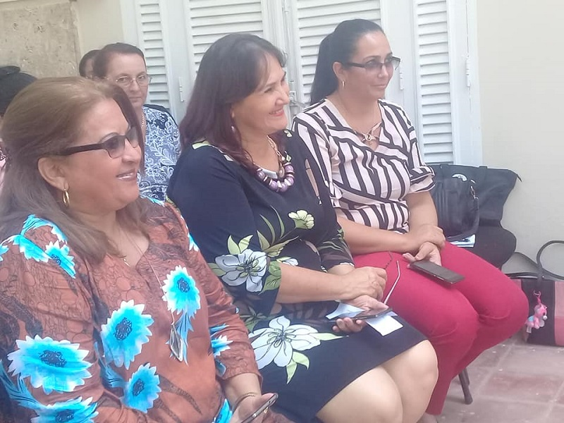 Federadas cubanas celebran Foro Antiimperialista contra el bloqueo