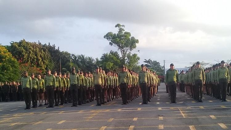 Gradúa el MININT 105 cadetes de Investigación y Criminalística