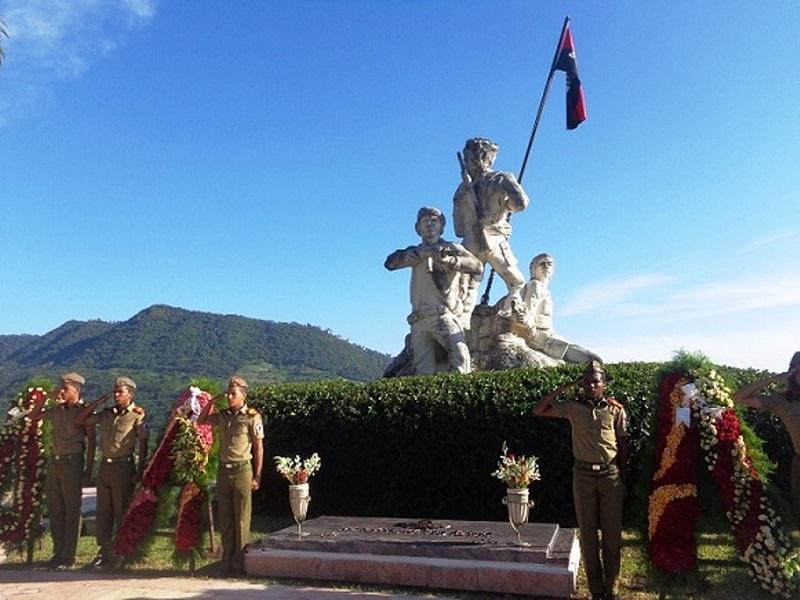 Homenaje al Comandante Almeida en el aniversario de su muerte