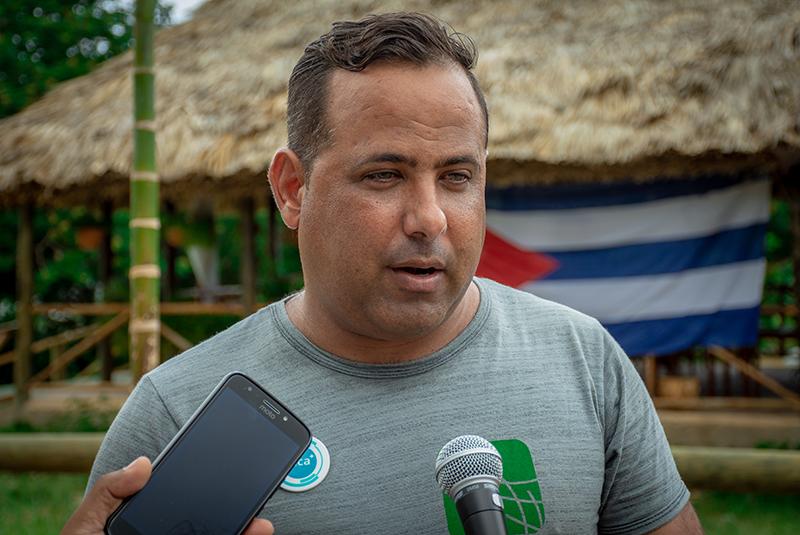 En Fotos: Cuba por el clima en el pulmón verde de Playa