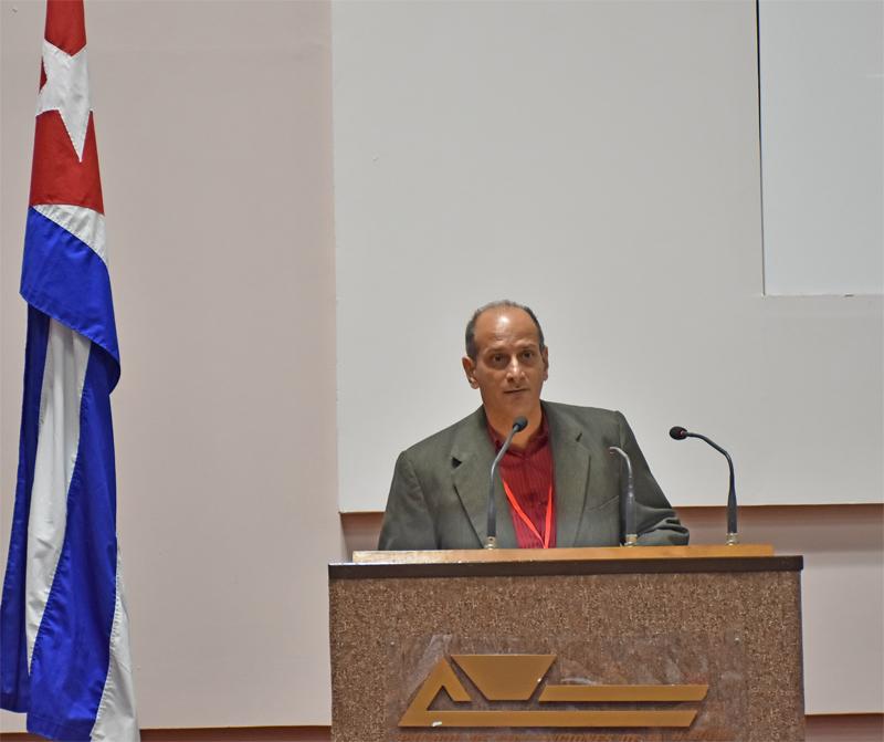Joel Cordovi Núñez, presidente del Instituto de Historia de Cuba.