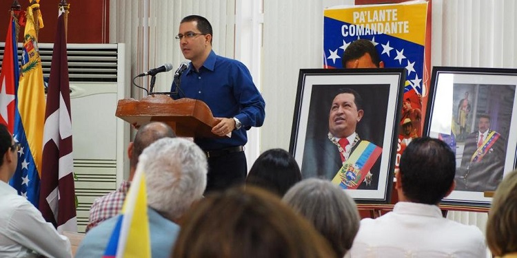 Canciller venezolano agradece solidaridad de Cuba