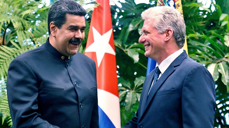 Diaz-Canel repudiates U.S. Executive Order on Venezuela