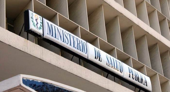 Información del Ministerio de Salud Pública de Cuba