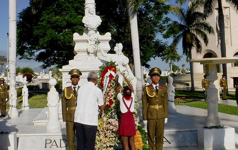Compromiso de honor con Céspedes en defensa de la Patria