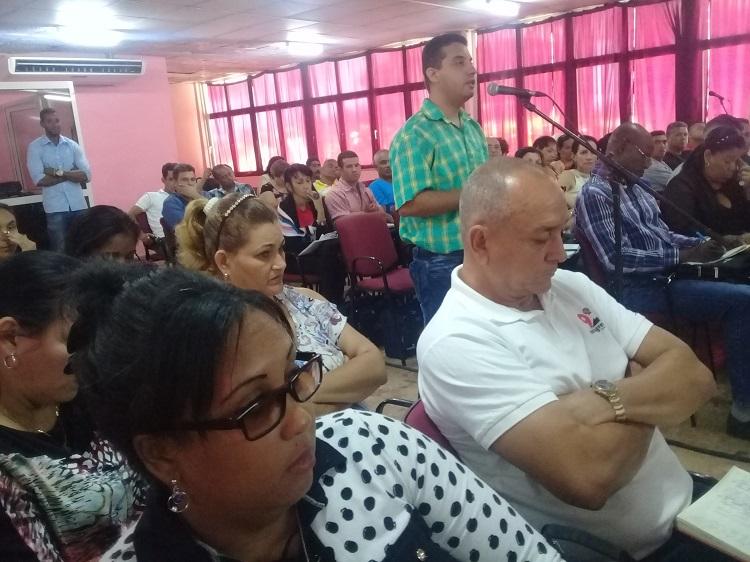 Sesionó Pleno de la Dirección Nacional de los CDR