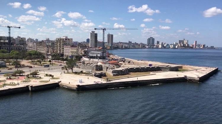 Agrupación naval de la Marina de Guerra de Rusia visita La Habana
