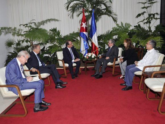 Raúl y Díaz-Canel reciben a personalidades extranjeras