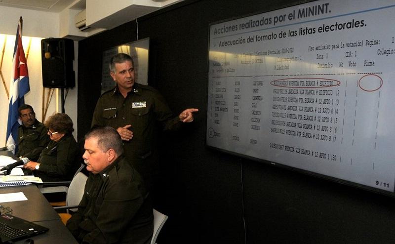Un registro de electores con total transparencia