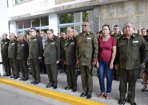Combatientes del MININT rechazan profanación a bustos de José Martí