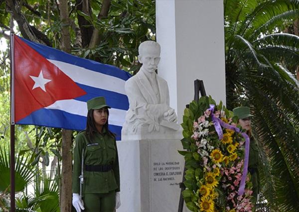 Combatientes del MININT rechazan profanación a bustos de José Martí (+Audio)
