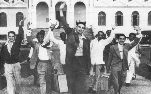 Excarcelacion de los Moncadistas: proa para un enero victorioso