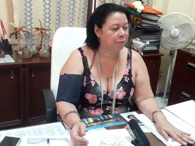 Secretaria de la Asamblea Provincial del Poder Popular de Camagüey, Ramona Díaz Guerra.