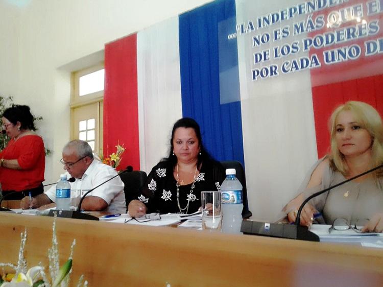 Asamblea del Poder Popular en Cienfuegos denuncia Ley Helms-Burton