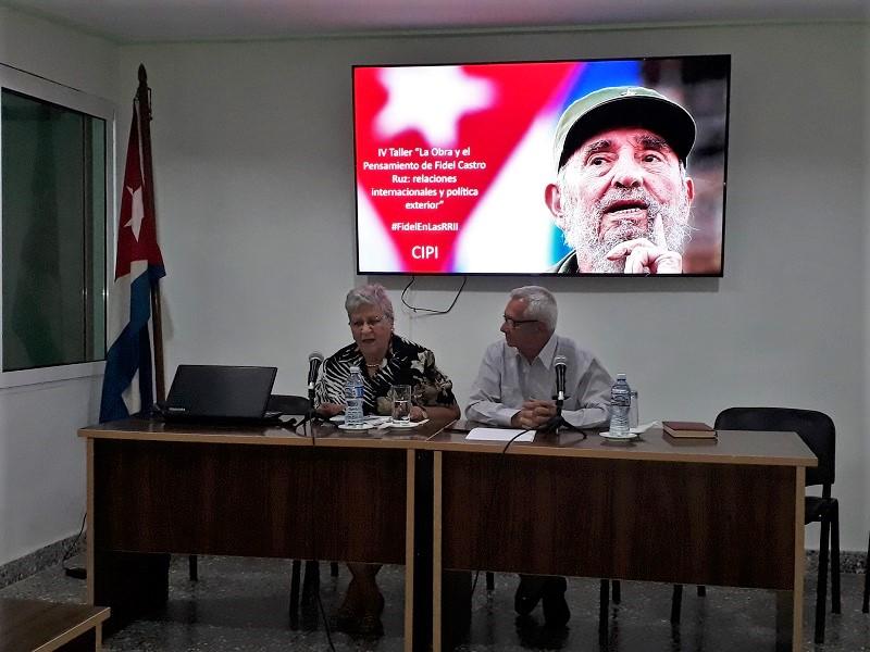 """Desarrollan IV Taller """"La Obra y el Pensamiento de Fidel Castro Ruz"""""""