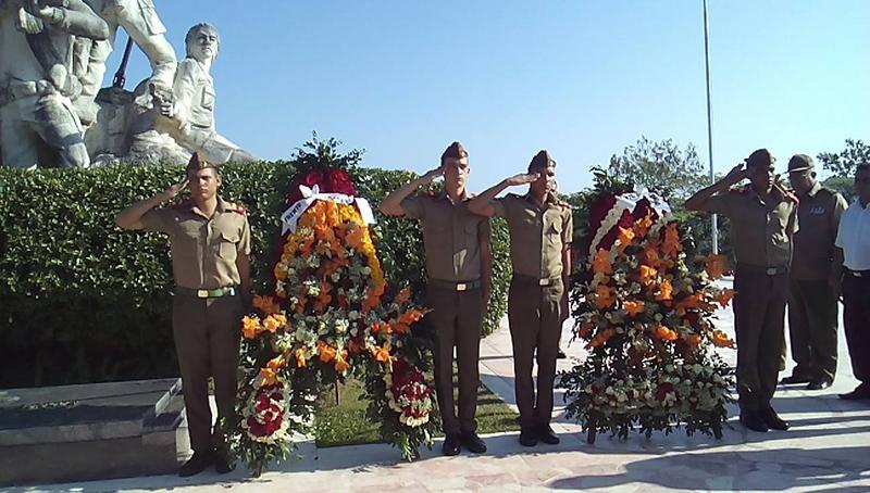Conmemorado en Cruce de los Baños el aniversario 61 del Tercer Frente