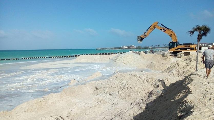 Varadero rejuvenecerá su línea de playa con vertimientos de arena