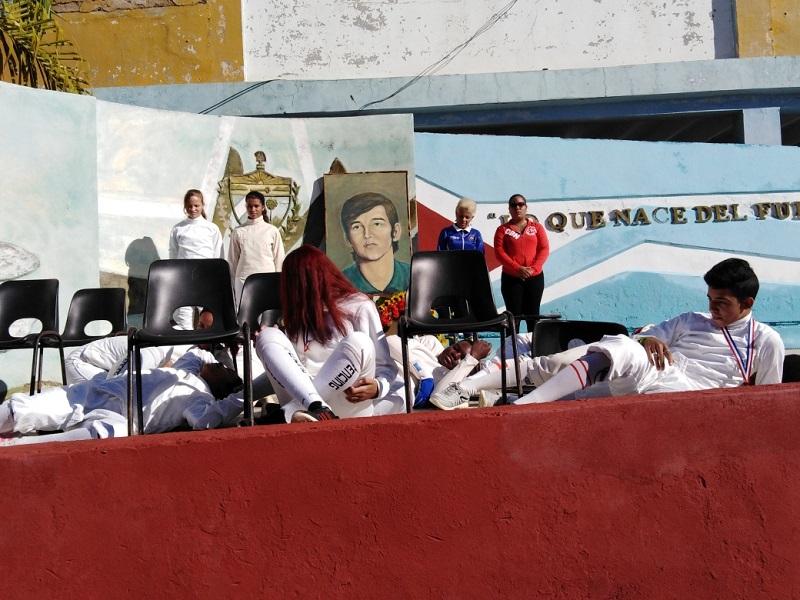 Nuestros campeones yacen en el Olimpo de los mártires de la Patria