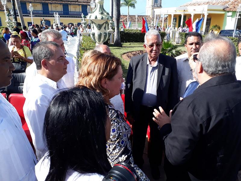 Visita Primer Ministro de Cuba a la ciudad de Trinidad