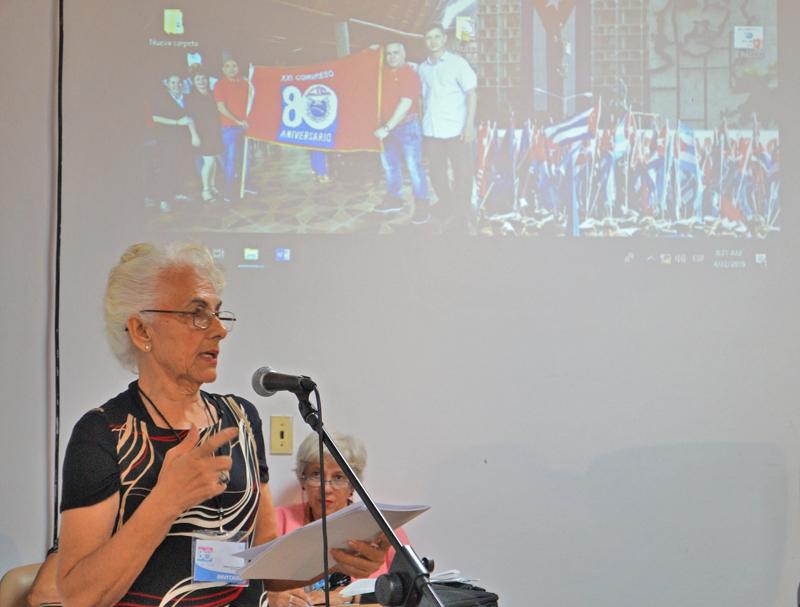 Debaten sobre los desafíos sindicales de la clase obrera en Cuba