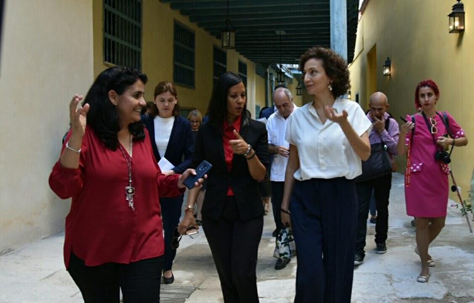 Visita Directora General de la UNESCO el Convento de Santa Clara