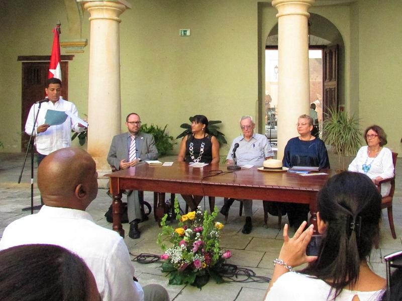 Inscriben Actas del Ayuntamiento de La Habana en programa memoria del mundo de la UNESCO