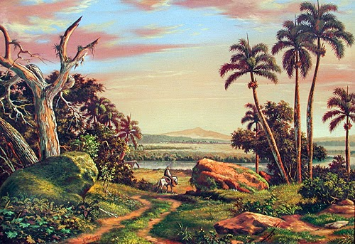 Alfredo Cecilio y su excepcional sensibilidad para recrear el paisaje