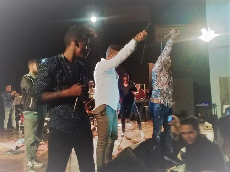 En Audio: Azúcar Negra canta por la Paz en Caracas