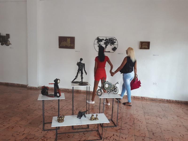Emilio Caboverde y su Metalmorfosis del arte