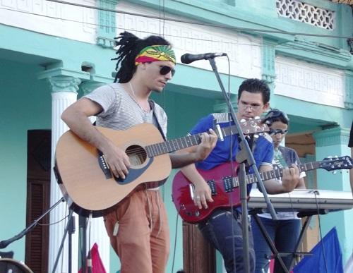 Vanguardia artística juvenil en Camagüey contra el bloqueo