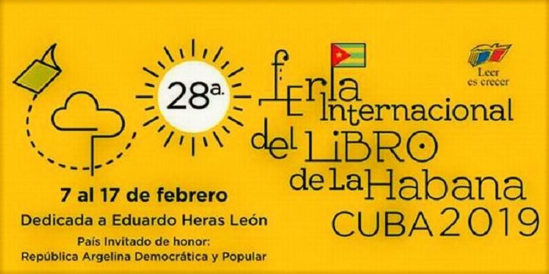 Comienza hoy Feria del Libro en La Habana