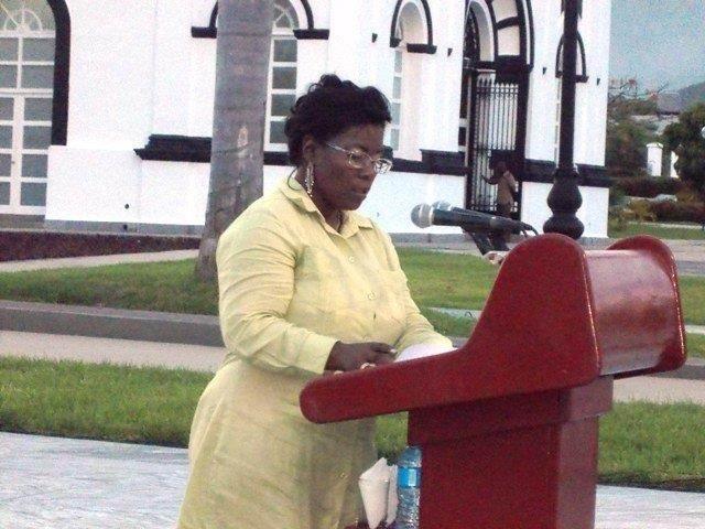 Doctora Diana Sedal Yanes, Rectora de la Mambisa Universidad de Oriente