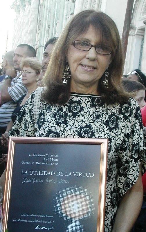 Camagüey despide hoy a Elda Cento Gómez, Premio Nacional de Historia