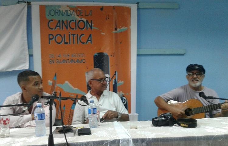 Continúa en Guantánamo Jornada de la Canción Política
