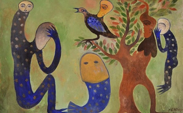 Manuel Mendive, la mitología de sus pinceles