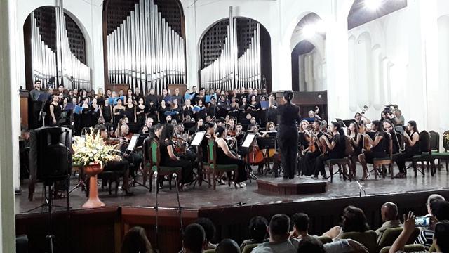Concluyó Festival Internacional de Coros Electo Silva