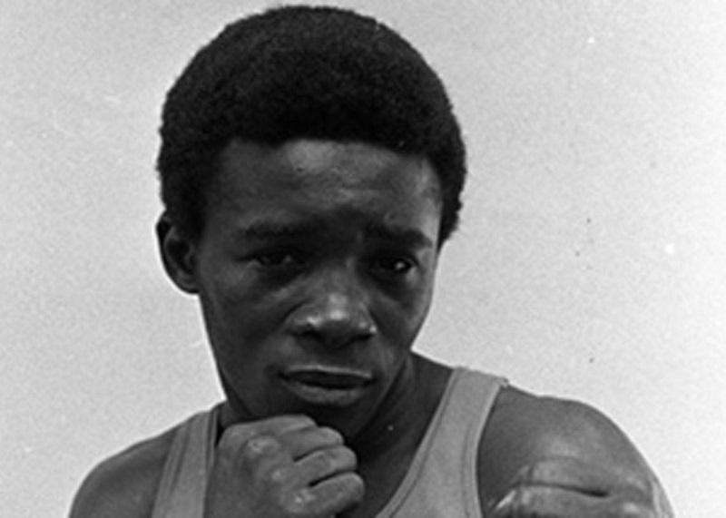 Campeón cubano de boxeo Adolfo Horta