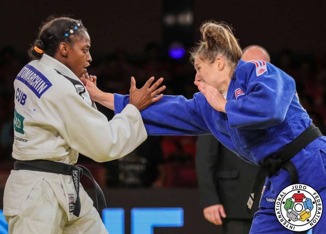 Kaliema Antomarchi gana el oro en Grand Slam de Judo de Brasilia (+ Video)