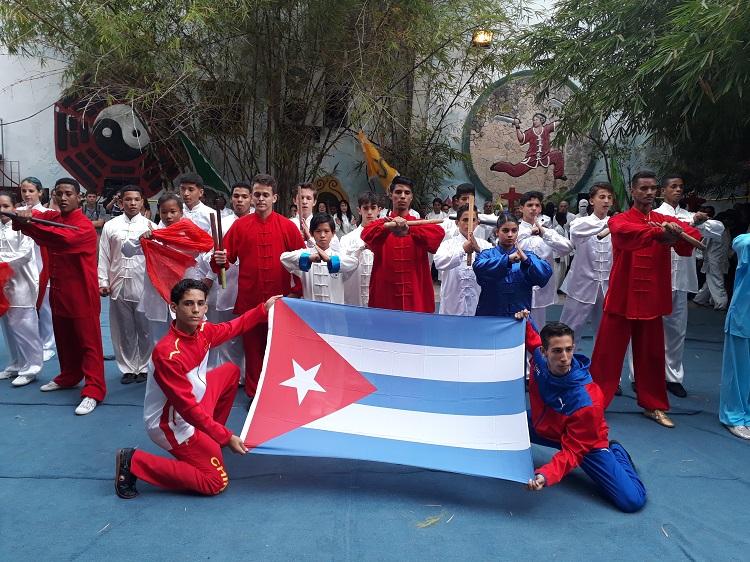 Las artes marciales unen a Cuba y Timor Leste