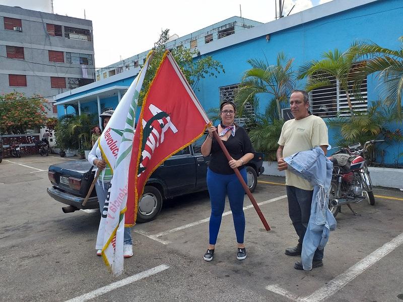 Bandera anapista recorre La Habana