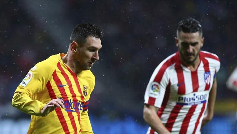 Superó el Barcelona al Atlético de Madrid y recupera la cima de la Liga española de fútbol