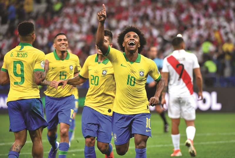 Brasil lanza candidatura y aplasta a Perú