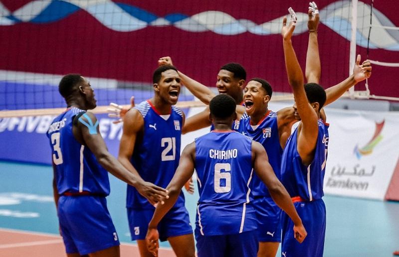 Discute hoy Cuba frente a Marruecos en Mundial Sub-21 de Voleibol