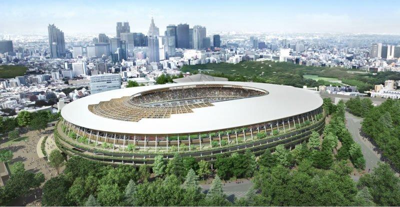 Anuncian terminación del nuevo Estadio Nacional japonés, sede principal de Tokio 2020